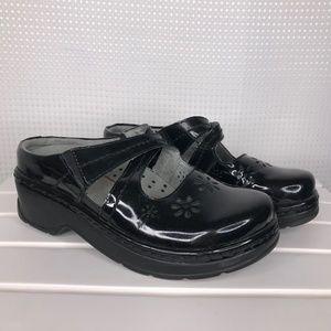 KLOGS Carolina Black Patent Leather Womens 8.5
